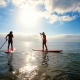 Stand up paddle boarding, Mission Beach